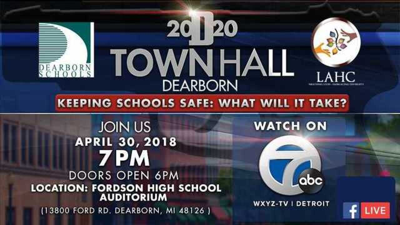 Detroit 2020 Town Hall on Keeping Schools Safe