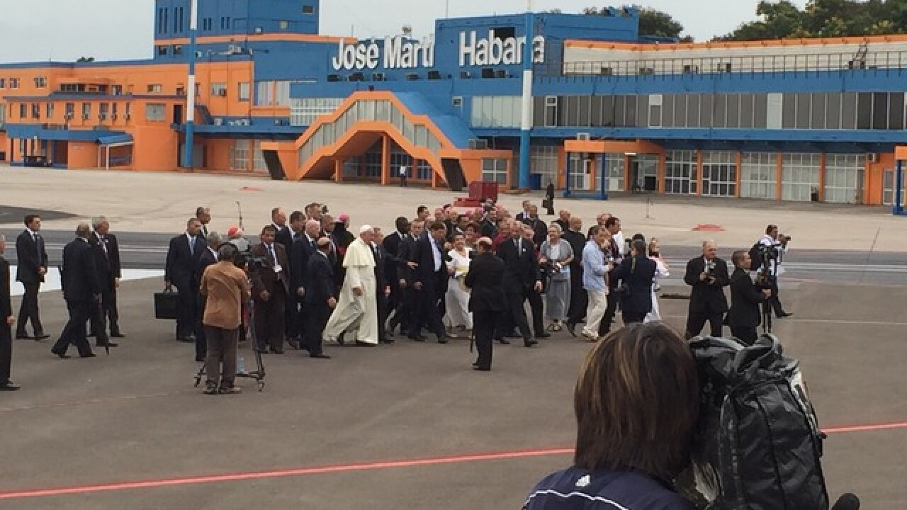 LIVE BLOG: Pope Francis in Cuba