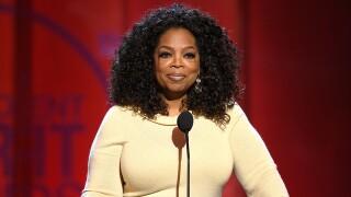 Oprah Winfrey hints at run for president in 2020