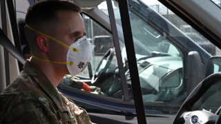 Maryland National Guard Transports Citizens During COVID-19 Pandemic
