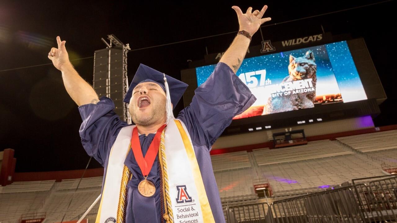 UArizona graduation looks different for 2021 grads
