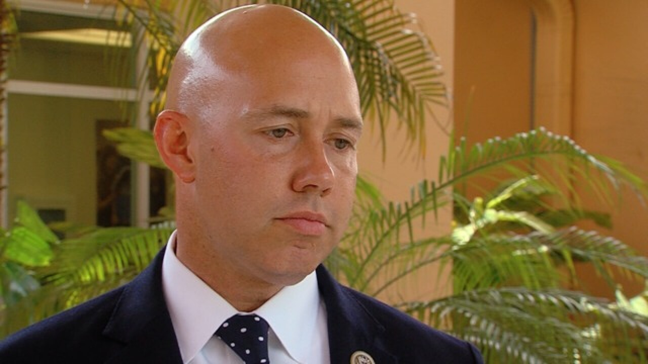 U.S. Rep. Brian Mast calling for temporary ban on AR-15 purchases