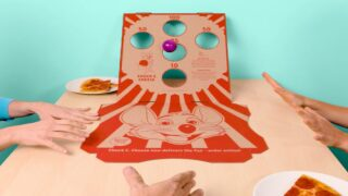 Chuck E. Cheese's New Delivery Box Features A Built-in Game For Extra Family Fun