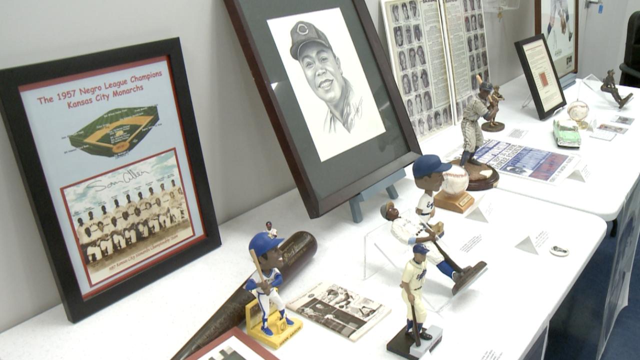 Negro Leagues Baseball exhibit at D-BAT Virginia Beach