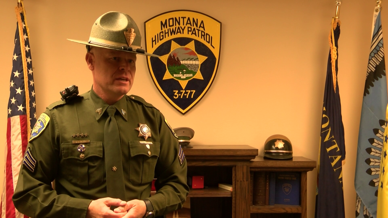 Sergeant Jay Nelson of the Montana Highway Patrol