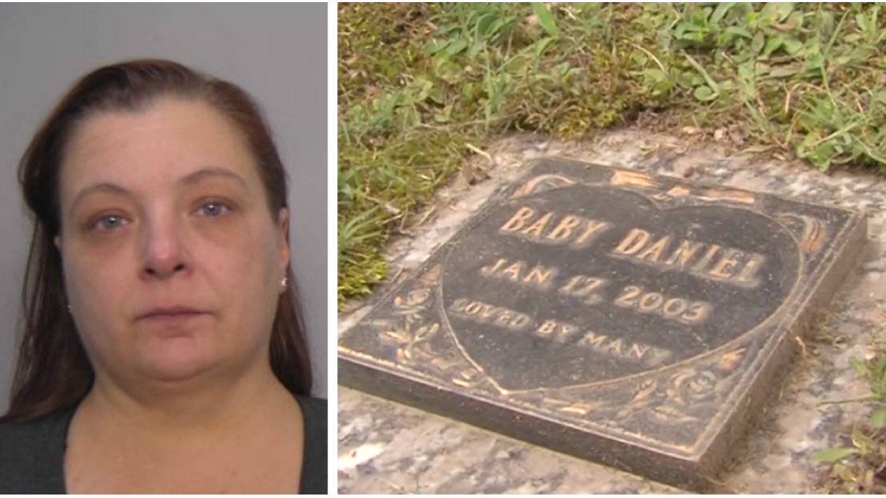Virginia woman charged in newborn's death 17 years after bodyfound