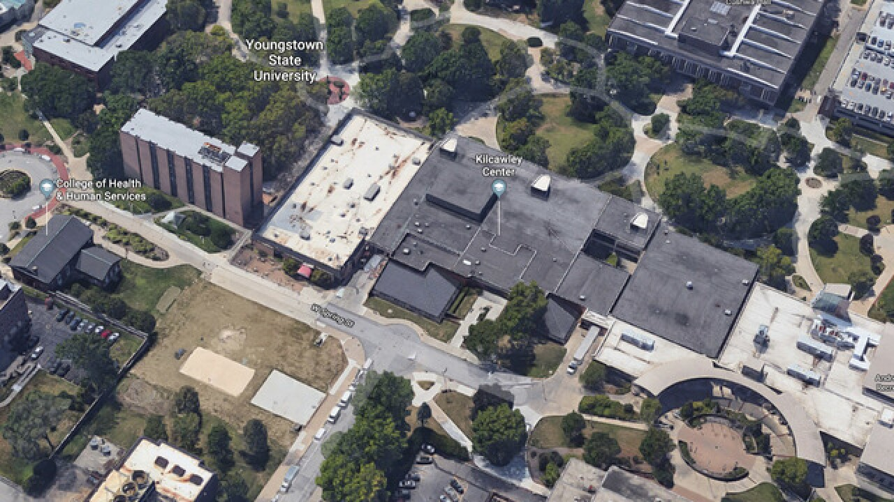 Youngstown State University on lockdown after report of armed ... on new york state campus map, youngstown state alumni, southern connecticut state campus map, youngstown state bookstore, colorado state campus map, mcneese state campus map, montana state campus map, henderson state campus map, jacksonville state campus map, fayetteville state university campus map, youngstown state baseball, wayne state campus map, cleveland state campus map, pennsylvania state campus map, utah state campus map, keene state college campus map, south dakota state campus map, savannah state university campus map, morgan state campus map, jackson state campus map,