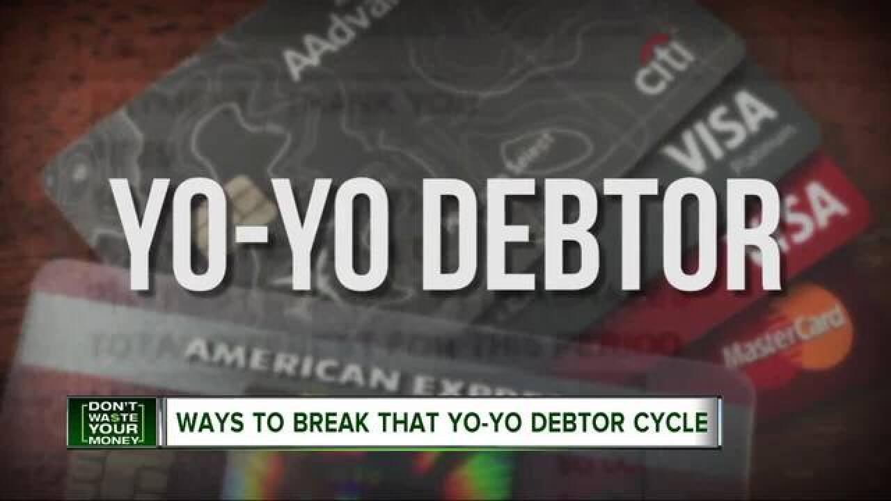 Yo-yo debtors can land in financial trouble