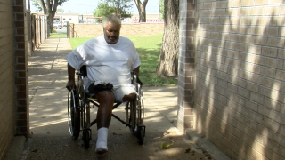 Amputee battles vendor over power chair struggle