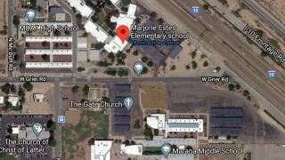 A law enforcement incident caused that caused three Marana schools to go into lockdown was lifted. Photo via Google Maps.
