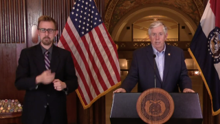 Missouri Gov, Mike Parson COVID-19 briefing.png