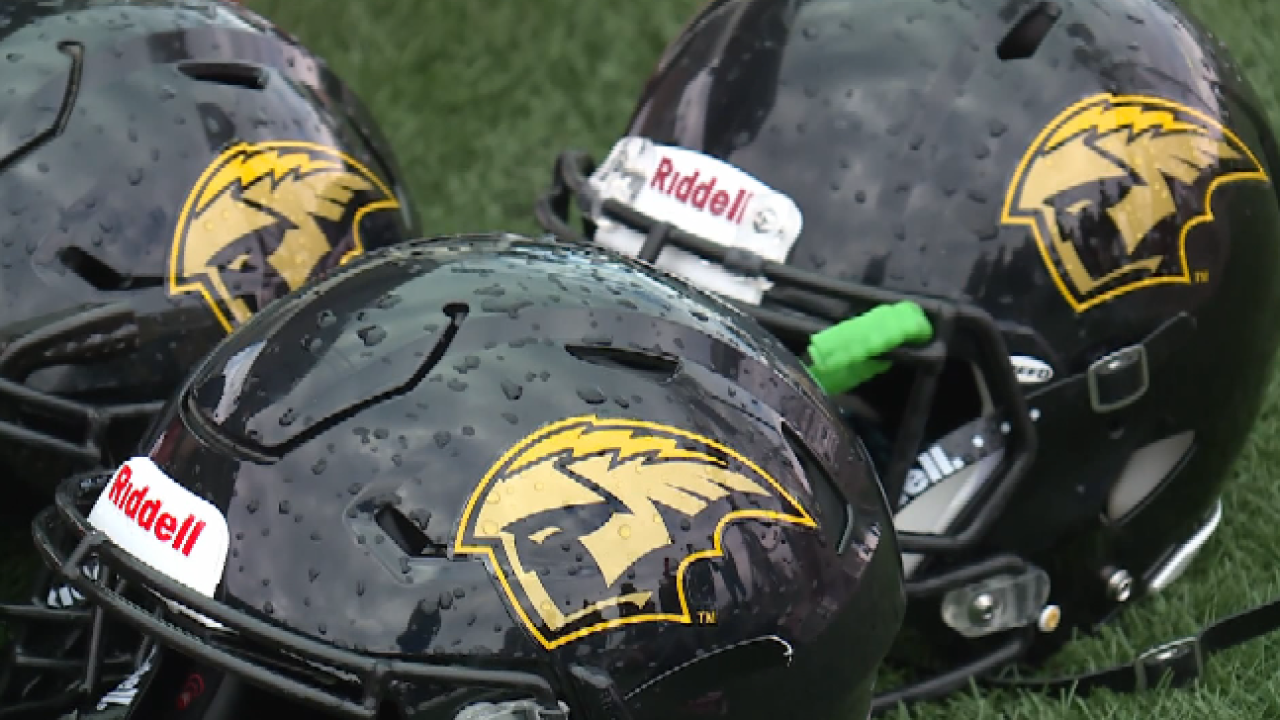 uwo football helmets