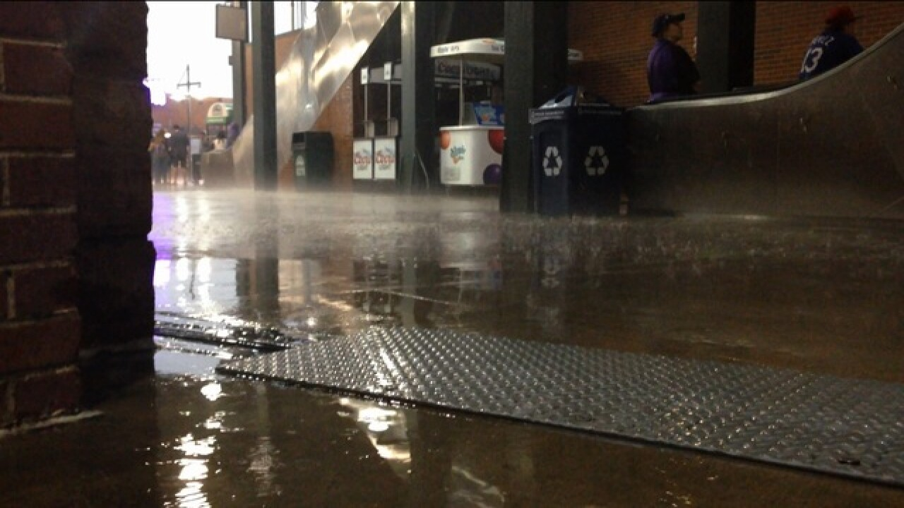 Flash Flood Warning issued for metro area