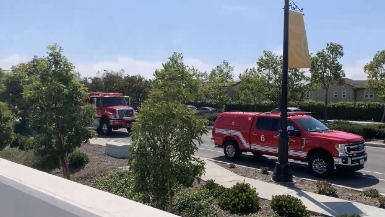 Carmel Valley Brush Fire