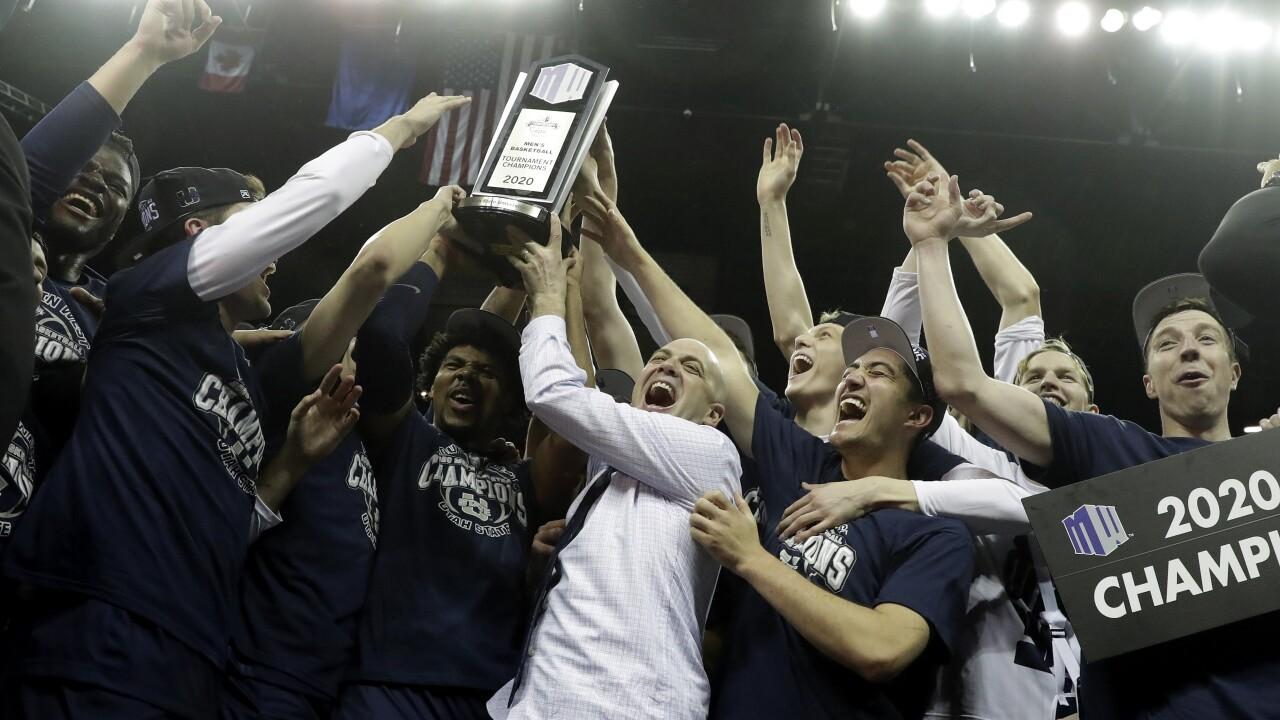 MWC Utah St San Diego St Basketball