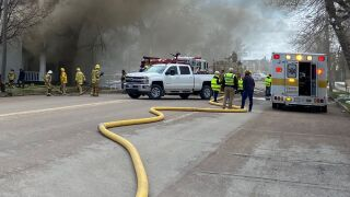 Fire in Choteau displaces apartment residents