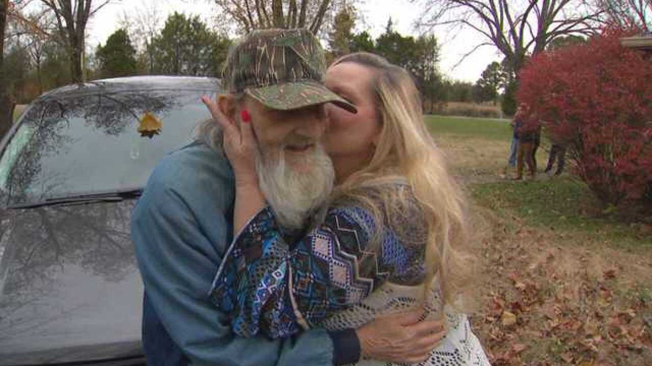 Family reunites with man thought to be dead