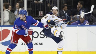 Skinner, Sabres fall to Rangers 6-2