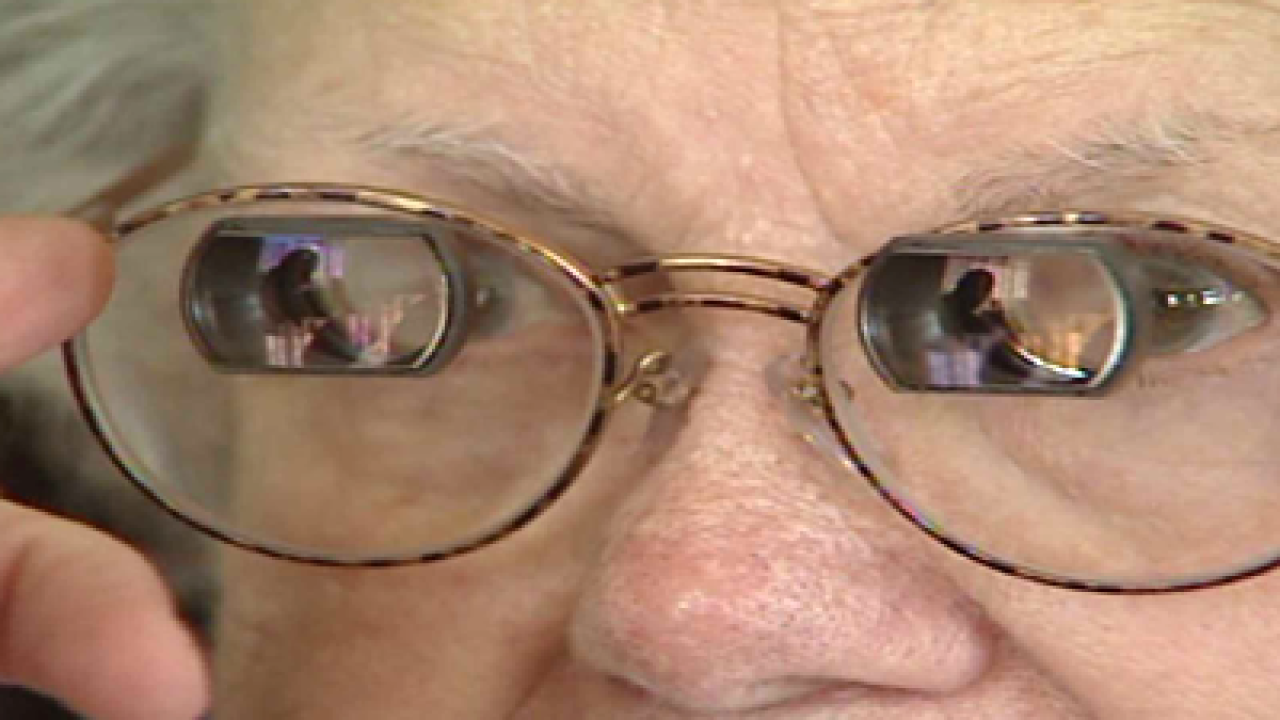 Glasses help restore vision in sufferers of macular degeneration