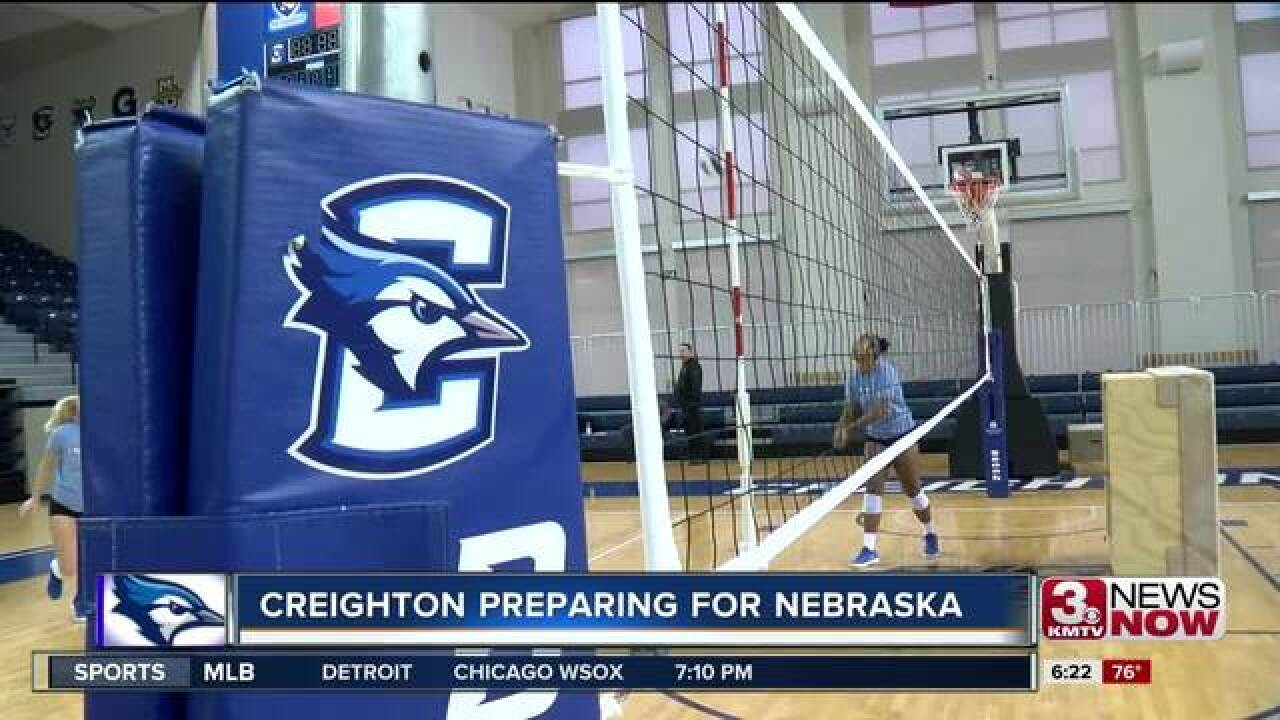 Creighton prepares to host Nebraska in Omaha