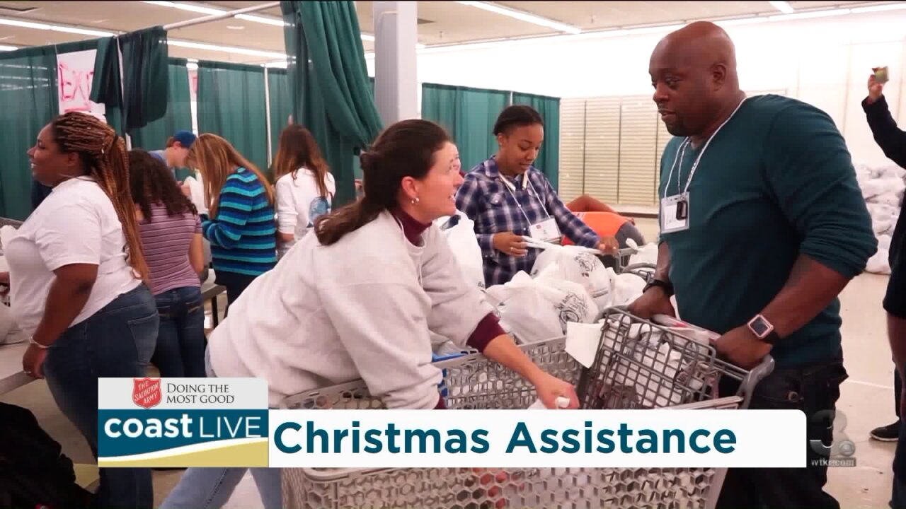 How to register for Salvation Army Christmas Assistance on Coast Live