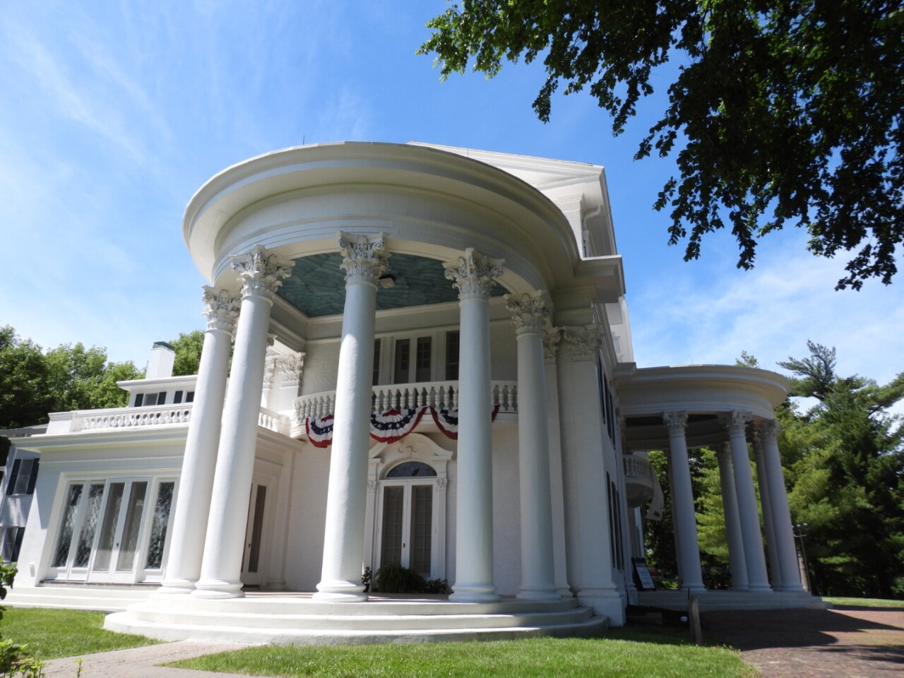 Arbor Lodge Mansion was once home to J. Sterling Morton's family..JPG