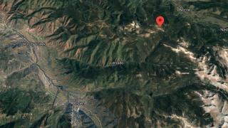 Location of Mount Yeckel