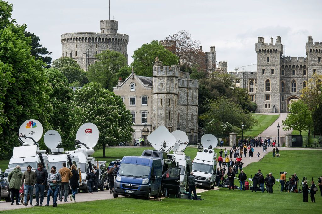 Photos: Windsor Castle as Meghan and Harry's baby arrived