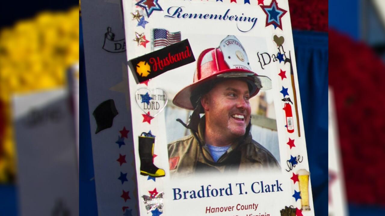 Hanover firefighter Lt. Brad Clark honored at National Fallen FirefightersMemorial