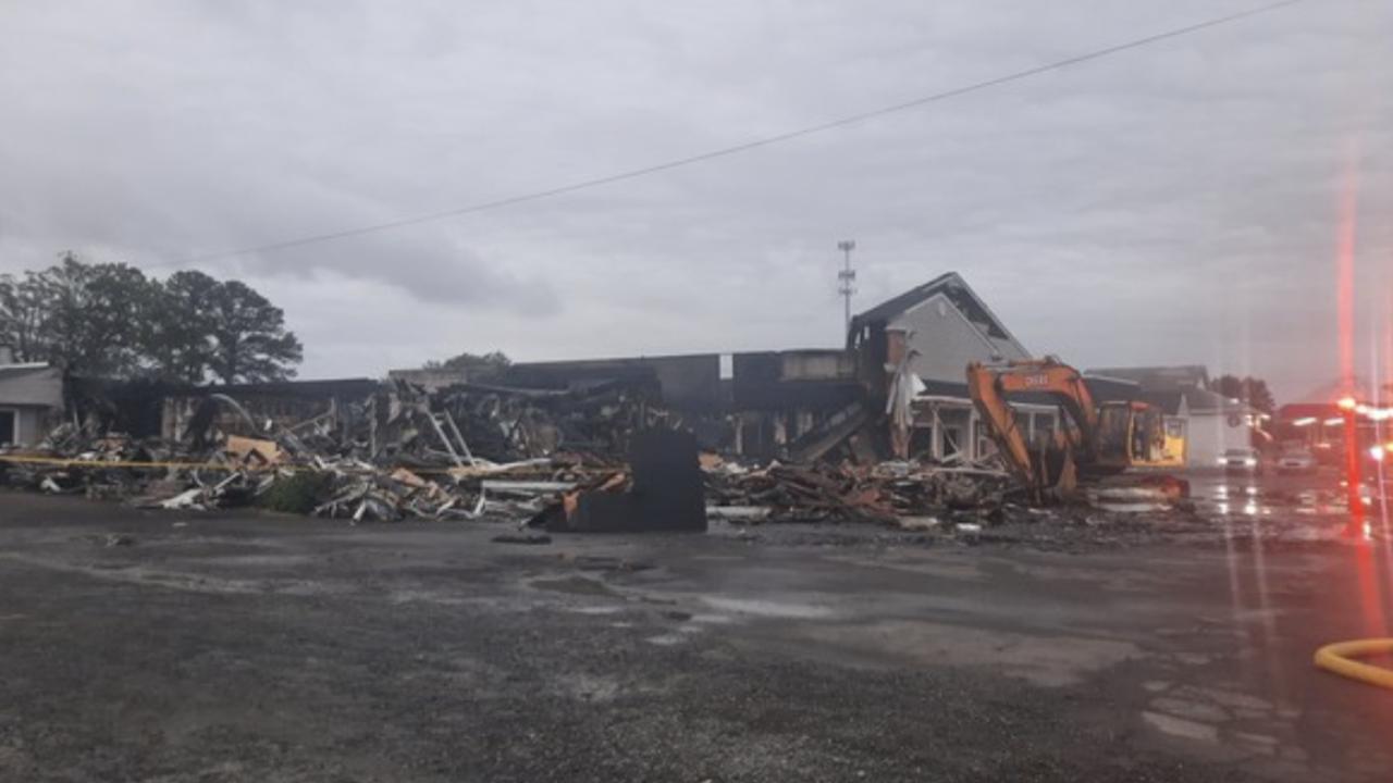 Solomons Strip Mall Fire