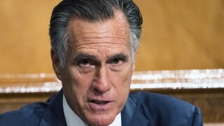 Sen. Romney says he supports voting on President Trump's Supreme Court nominee