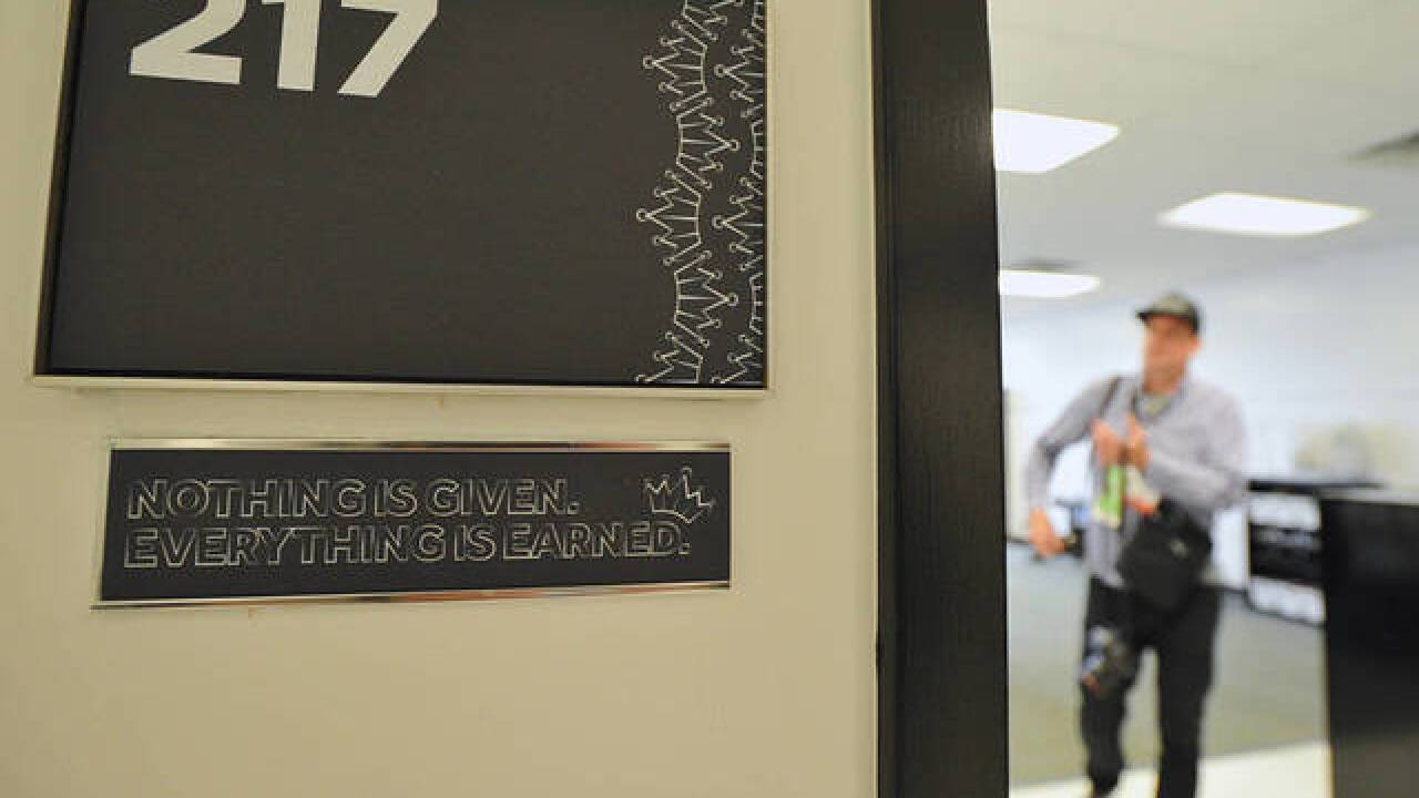 LeBron James opens school in hometown of Akron