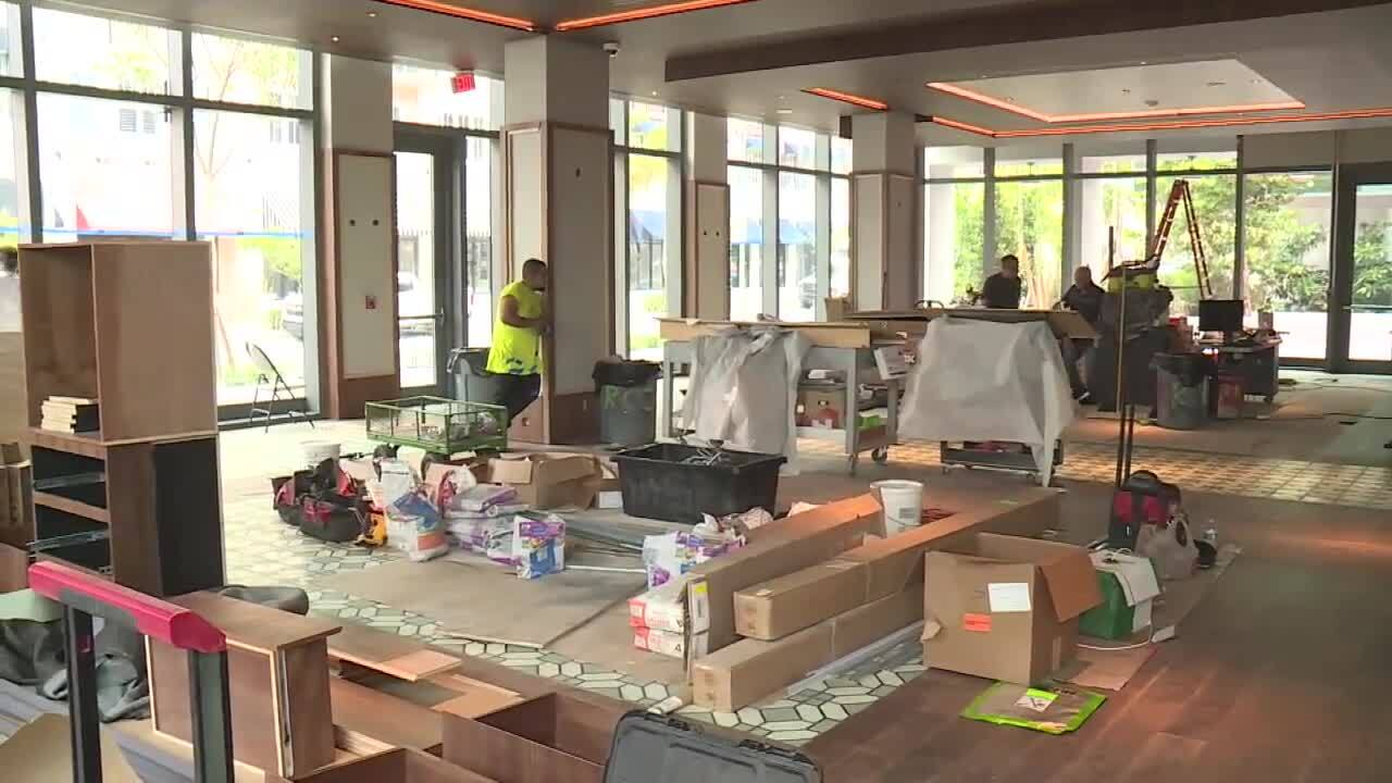 Construction nearly complete at The Ray in downtown Delray Beach