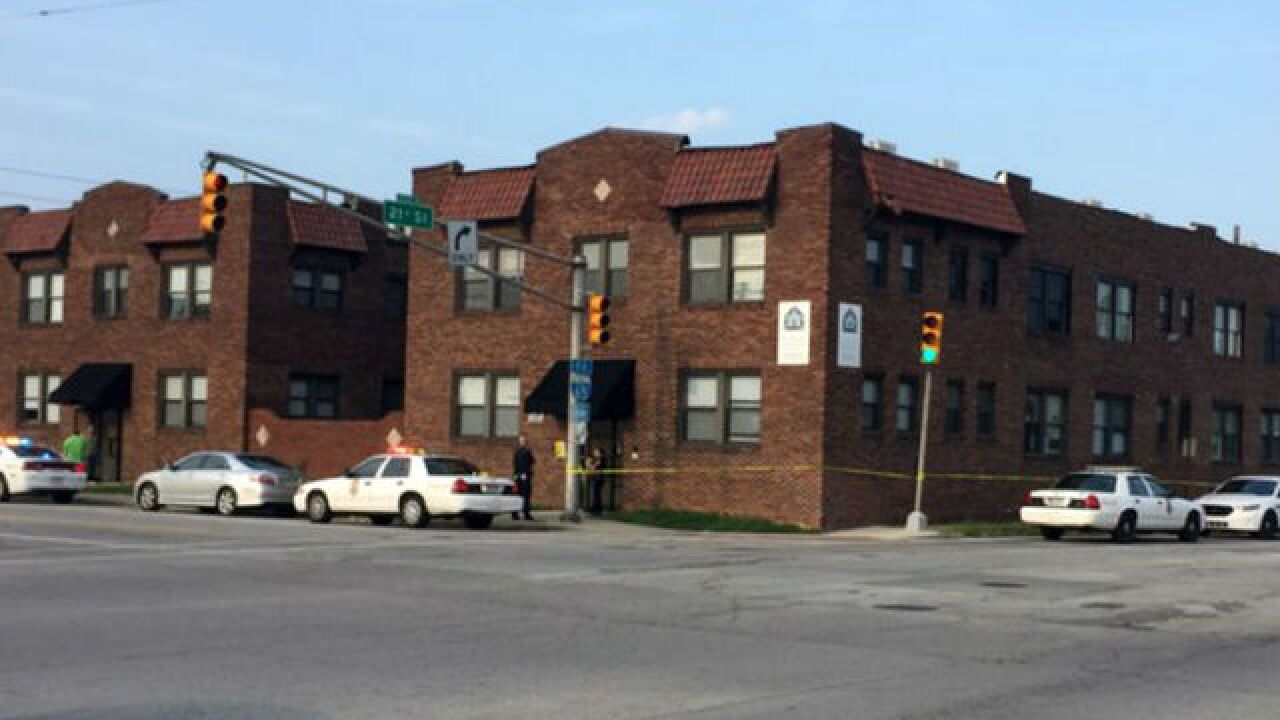 Woman in Indiana apartment stabbed to death with broken wine bottle, another woman arrested