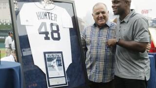 Former Tigers OF Torii Hunter among newcomers on Baseball Hall of Fame ballot