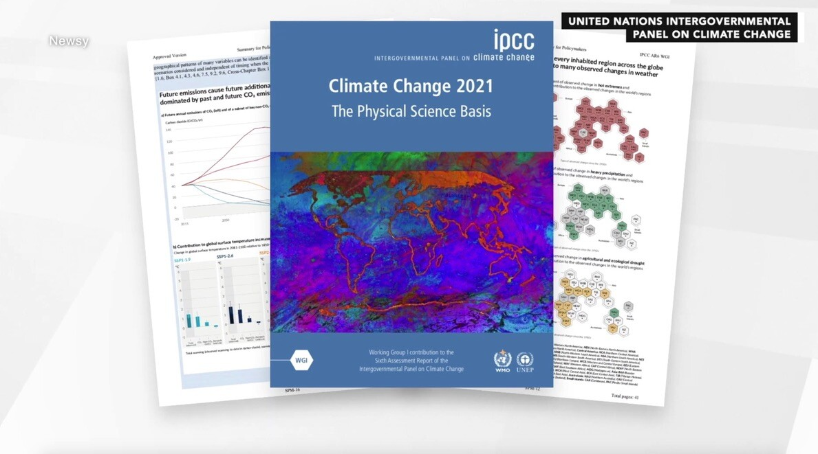 IPCC Report released earlier this month