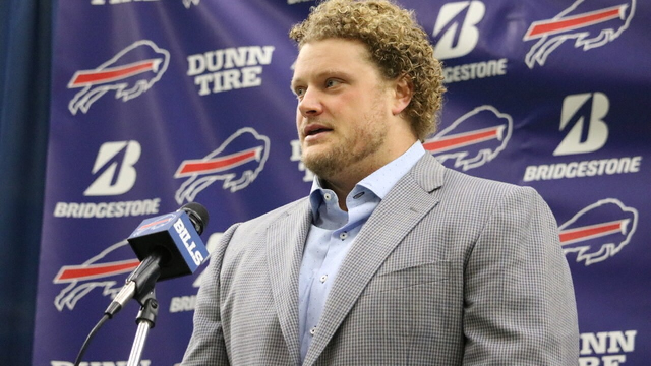 Eric Wood returns to New Era Field this Sunday