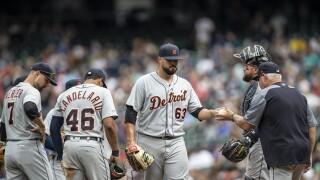 Nick_Ramirez_Detroit Tigers v Seattle Mariners