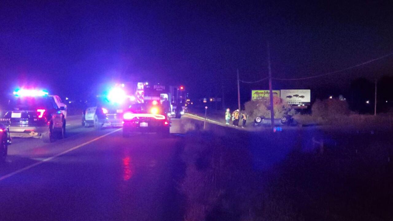 5 injured in Billings rollover crash
