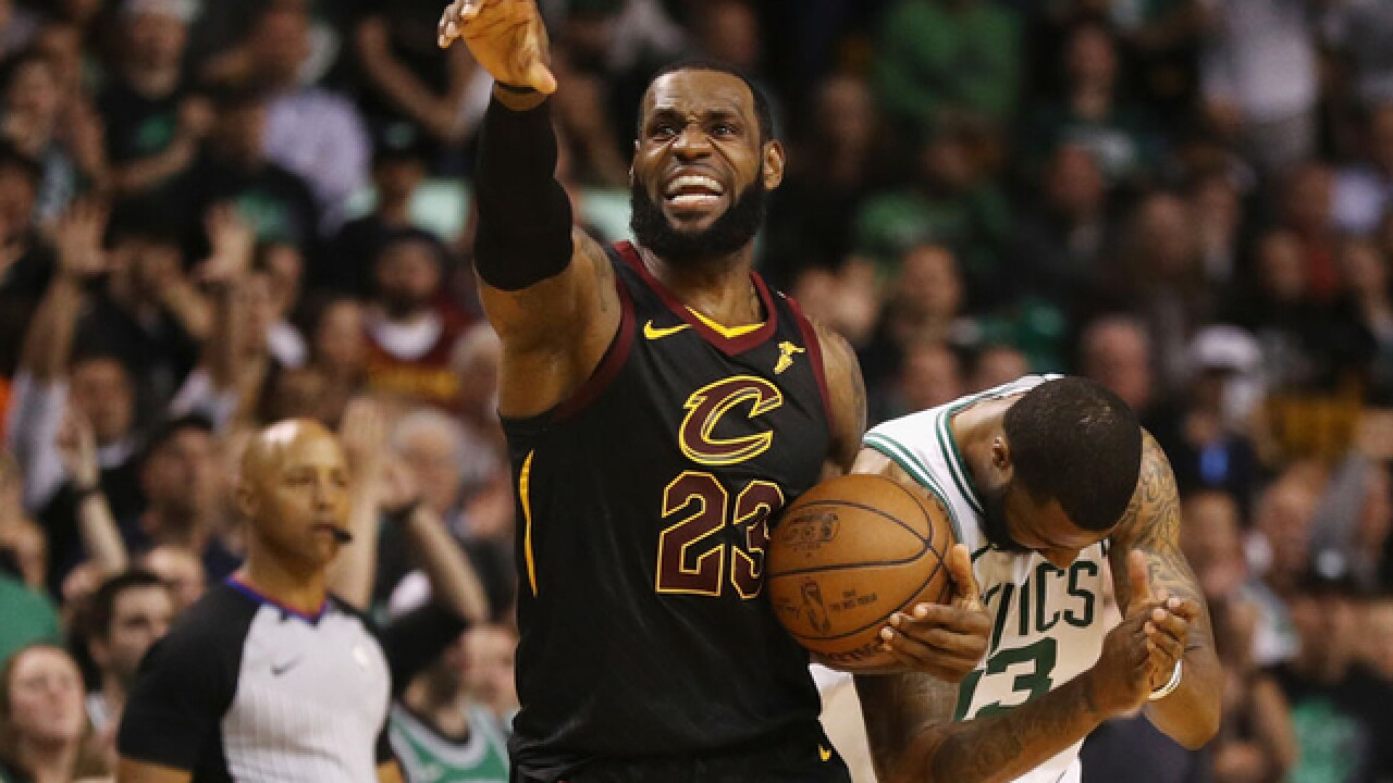 Popo in 9: LeBron showed why he's king in powering Cavs to NBA Finals