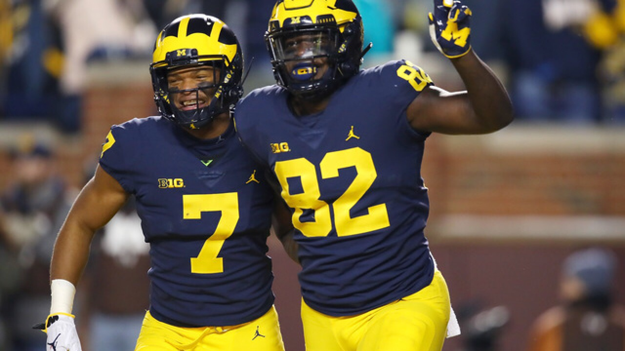 No. 4 Michigan tops Indiana, aims for No. 8 Ohio State