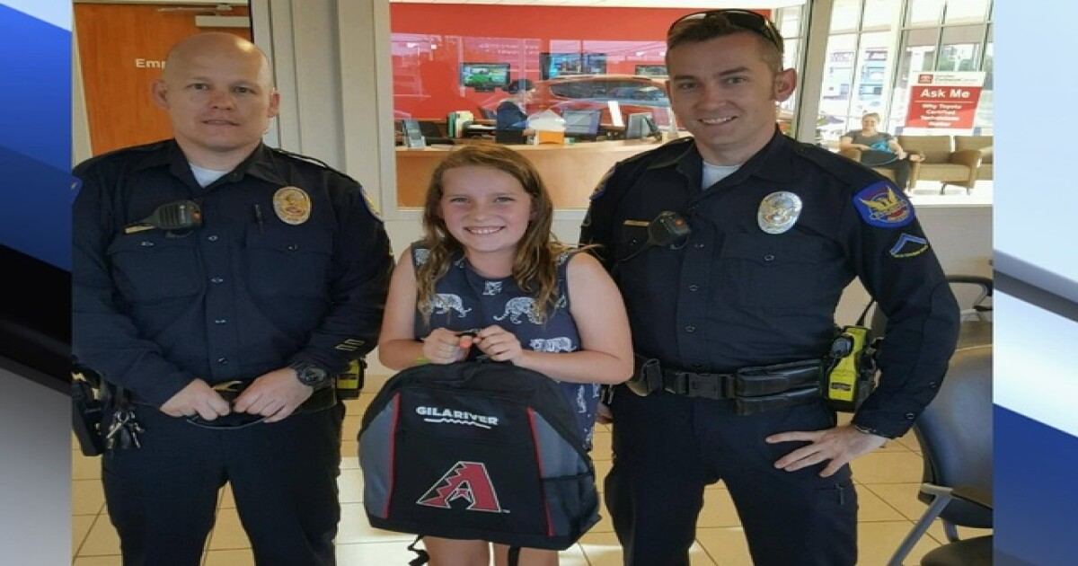 Arizona Diamondbacks and Phoenix Police Department help