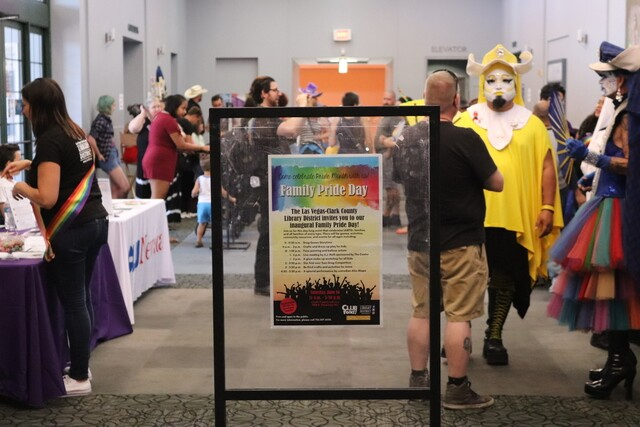 PHOTOS: Clark County Library hosts Family Pride Day