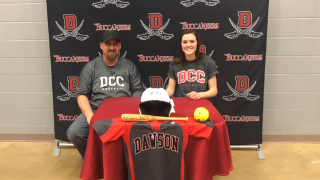Madison Davis Dawson CC softball