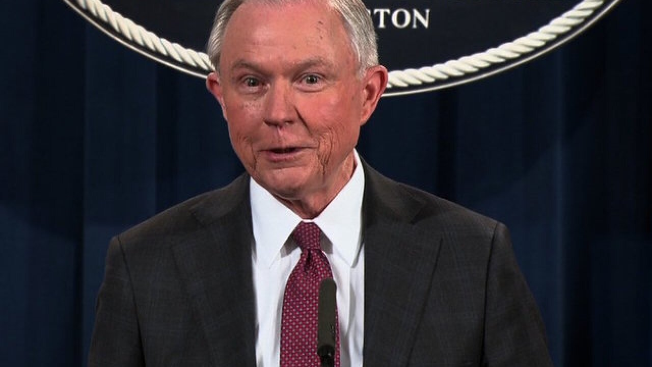 Jeff Sessions: 'I plan to continue' as attorney general