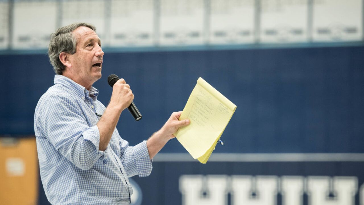 Former South Carolina Gov. Mark Sanford says he is launching primary challenge against Trump
