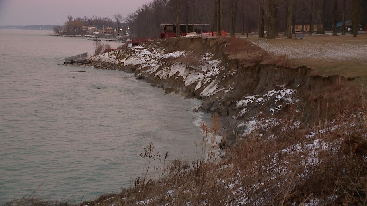 Geneva-on-the-Lake erosion