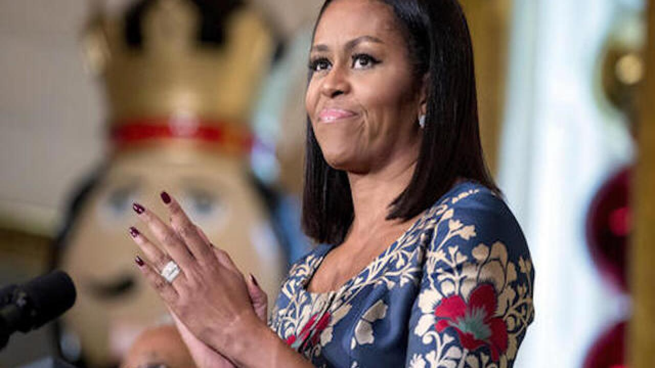 President Obama: 'Michelle will never run for office'