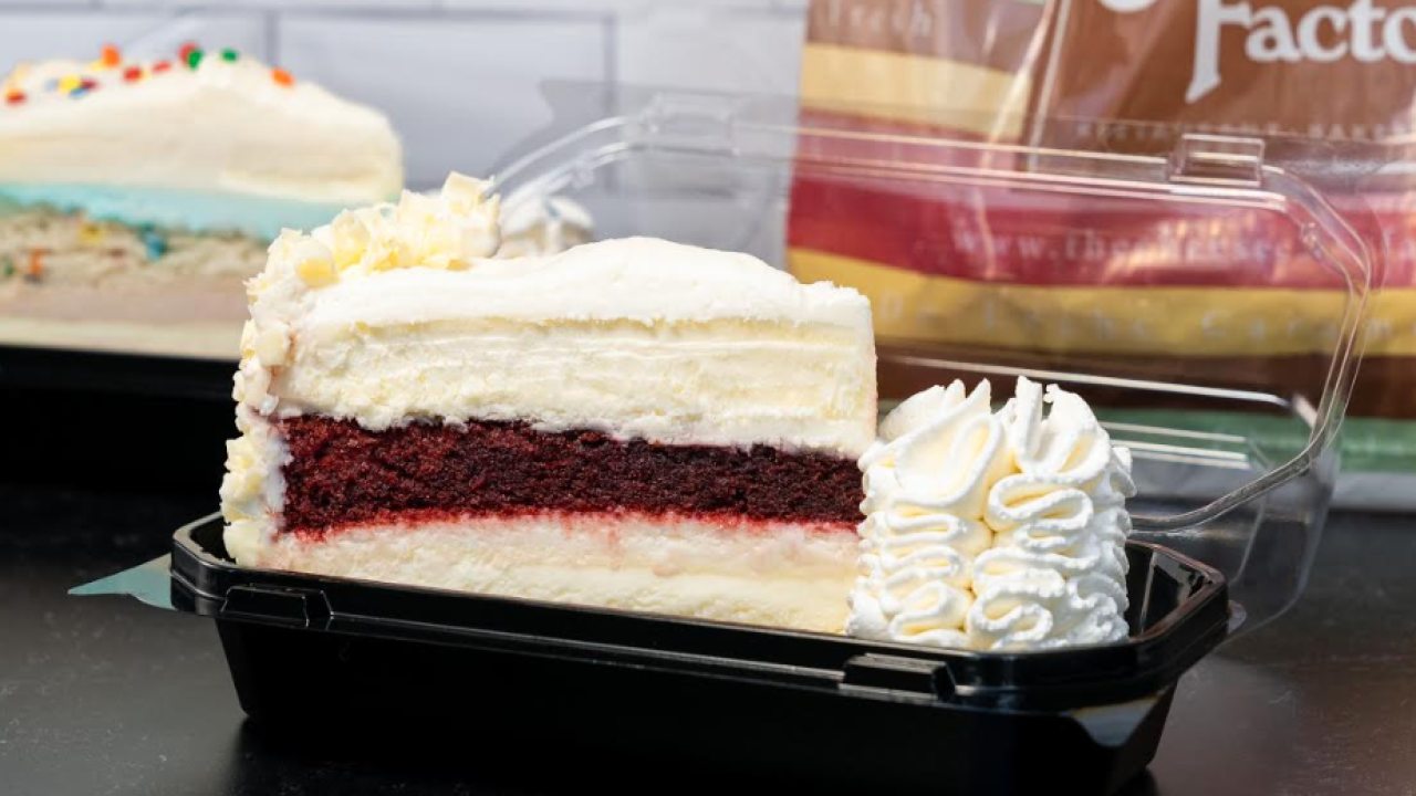 Cheesecake Factory is giving out a free slice of cheesecake with pickup orders