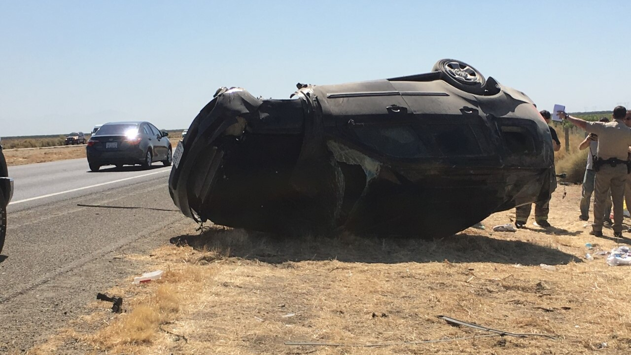 CHP: 10 and 13-year-old juveniles killed in rollover crash